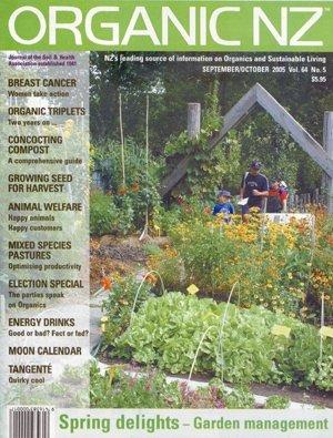 Organic NZ Magazine 2005