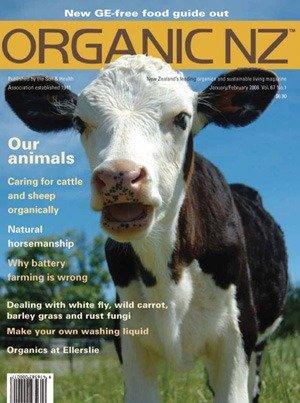 Organic NZ Magazine 2008