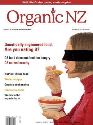 Organic NZ Magazine 2010 JulyAugust