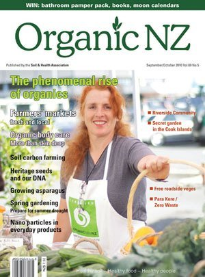 Organic NZ Magazine 2010 SeptemberOctober