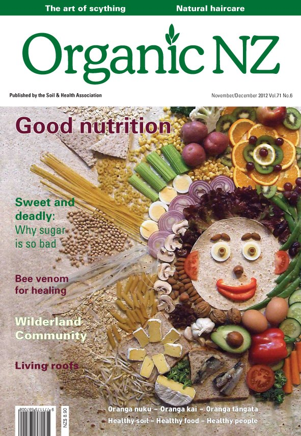 Organic NZ magazine 2012 November/December issue