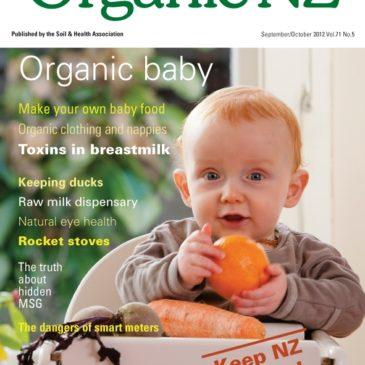 Organic NZ Magazine 2012