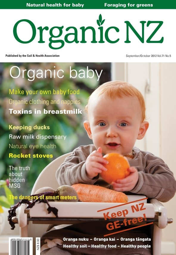 Organic NZ magazine 2012 September/October issue