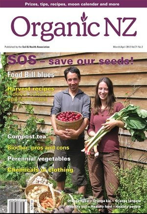 Organic NZ magazine 2012 March/April