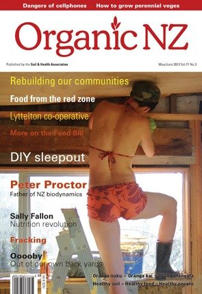 Organic NZ magazine 2012 May/June
