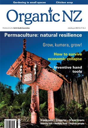 Organic NZ magazine 2012 July/August