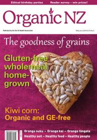 Organic NZ magazine May/June 2013 cover