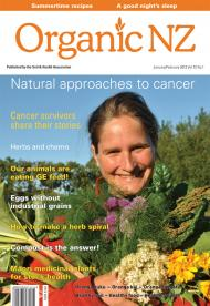 Organic NZ magazine January/February 2013