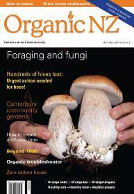 Organic NZ magazine March/April 2013 cover