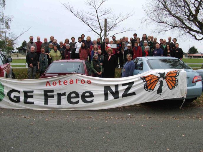 GE-free Activists