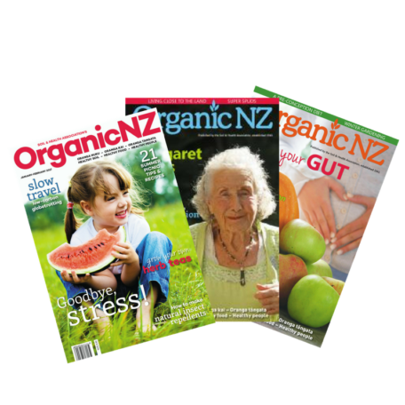 Organic NZ magazine buy past issues
