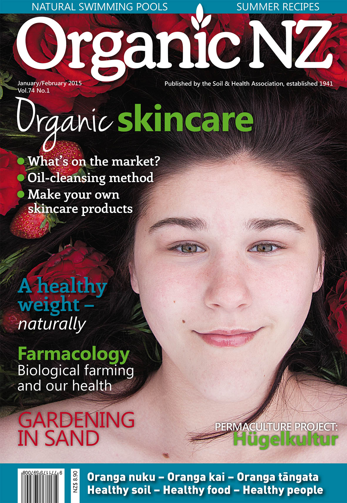 Organic NZ January/February 2015 cover