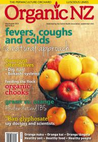 Organic NZ JulyAugust 2015 Cover image