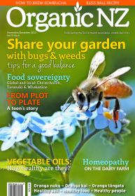 Organic NZ Magazine Nov Dec 2015 cover