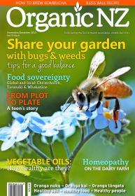 Organic NZ Magazine Nov Dec 2015 cover