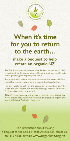 Organic NZ Demo Sidebar banner