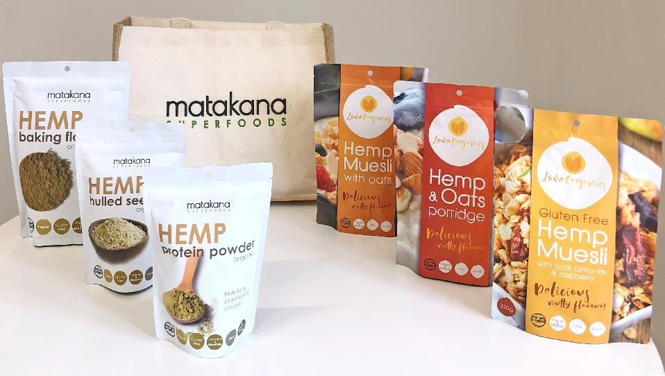 Matakana SuperFoods Hemp Food Packs