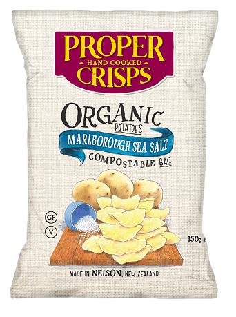 Proper Crisps new organic flavour