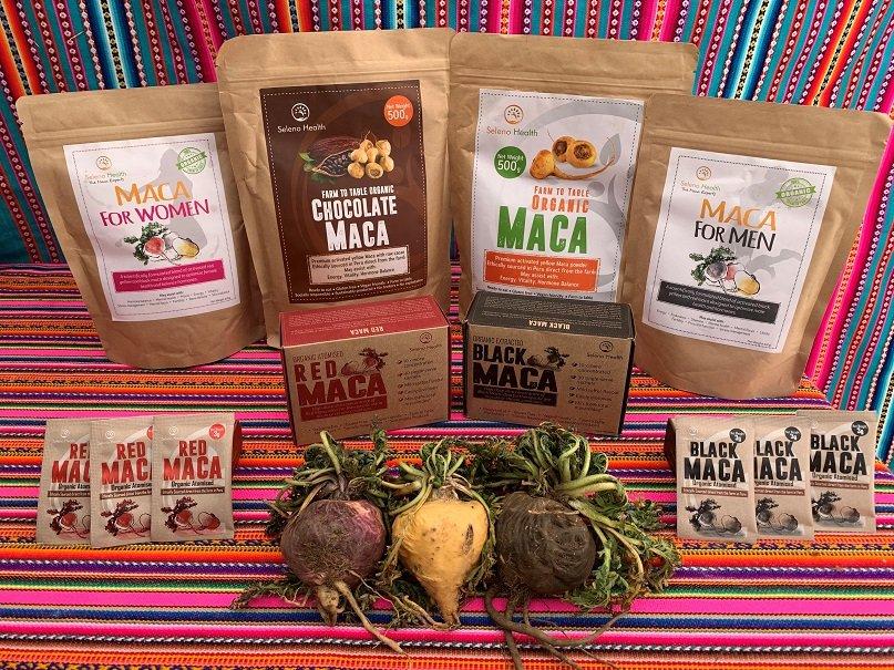 Seleno Health maca prize pack